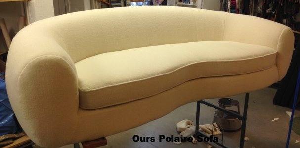 Ours Polaire soffa